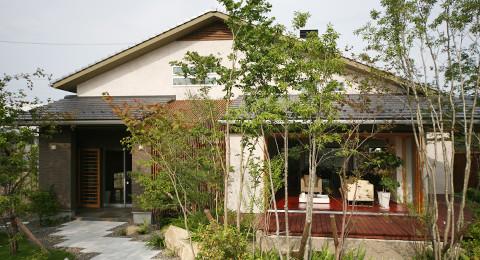 岐阜の注文住宅、季然 Style外観