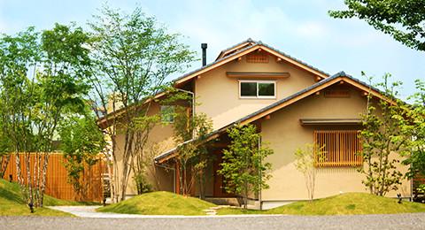 岐阜の注文住宅、木組み Style外観