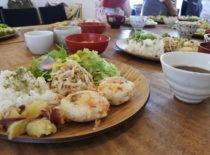 岐阜市のカフェで渡辺ひさこさんの重ね煮講座開催